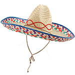 Sombrero - Natural Straw Fancy Dress