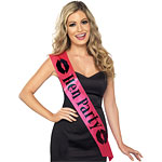 """Hen Party"" Hot Pink Sash"