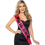 """Bride To Be"" Hot Pink Sash"
