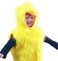 Chick Tabbard - Child Costume Fancy Dress