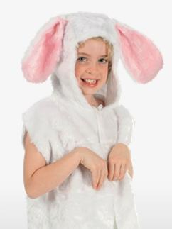 Rabbit Fur Tabard - Child Costume Fancy Dress