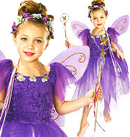 Plum Pixie - Child Costume