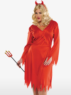 Red Hot Devil - Adult Costume Fancy Dress