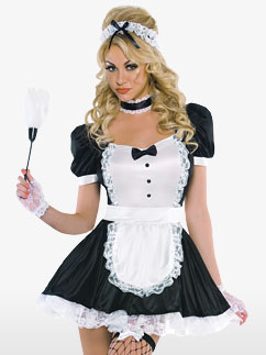 Sassy Maid - Adult Costume Fancy Dress