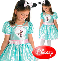Minnie Mouse Mint Deluxe - Child Costume