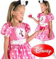 Minnie Mouse Pink Deluxe - Child Costume