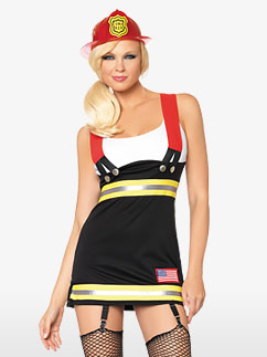 Backdraft Babe - Adult Costume Fancy Dress