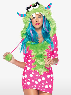 Melody Monster - Adult Costume Fancy Dress