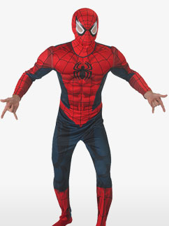 Spider-Man Deluxe - Adult Costume