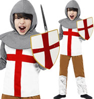 Fancy Dress - Boys Horrible Histories Knight - M
