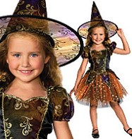 Elegant Witch - Toddler Costume Fancy Dress