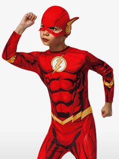 The Flash - Child Costume Fancy Dress