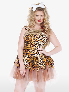 Cave Girl Cutie - Adult Costume Fancy Dress
