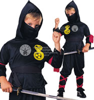 Ninja - Child Costume Fancy Dress