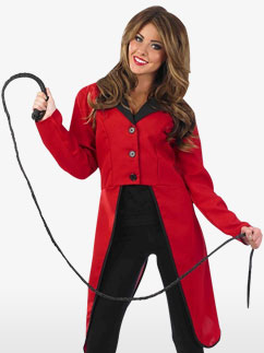 Circus Ringmaster Jacket - Adult Costume Fancy Dress