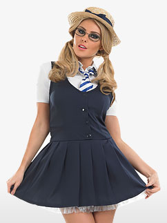 School Girl Tutu - Adult Costume