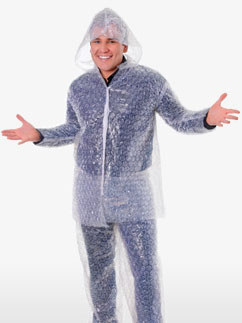 Bubble Wrap Suit - Adult costume Fancy Dress