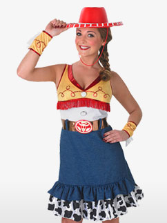 Sassy Jessie - Adult Costume Fancy Dress