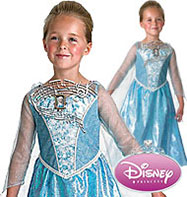 Musical and light up Elsa - Child Costume