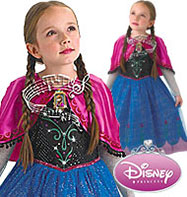 Musical and light up Anna - Child Costume