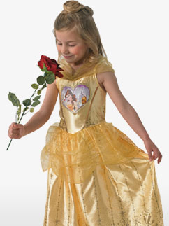 Love Hearts Belle - Child Costume