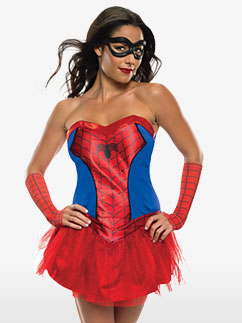 Spider Girl - Adult Costume Fancy Dress