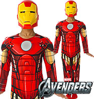 Deluxe Iron Man - Child Costume
