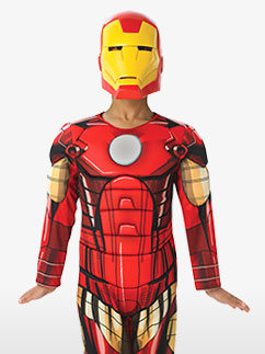 Deluxe Iron Man - Child Costume Fancy Dress