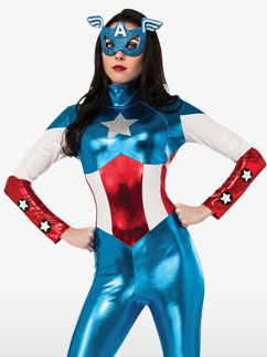 Miss American Dream - Adult Costume Fancy Dress
