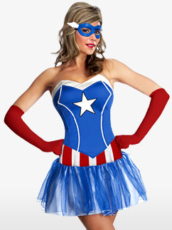 Sassy Miss American Dream - Adult Costume Fancy Dress