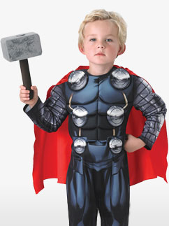Deluxe Thor - Child Costume Fancy Dress