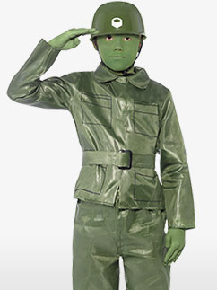 Toy Soldier - Child Costume Fancy Dress