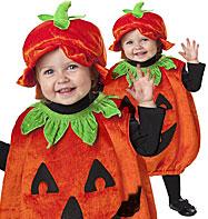 Pumpkin Outfit for Children - Party Pieces