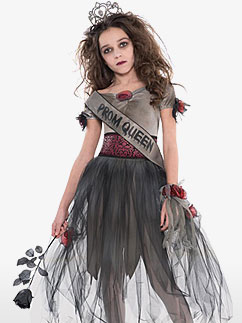 Prombie Queen - Child Costume Fancy Dress