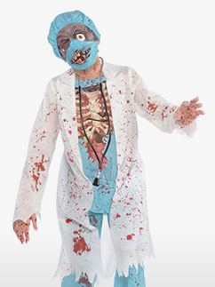 Zombie Surgeon - Child Costume Fancy Dress