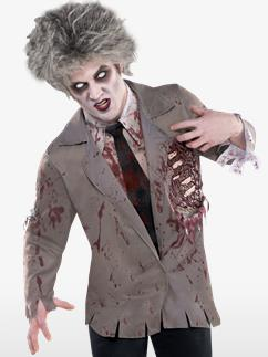 Zombie Shirt - Adult Costume Fancy Dress