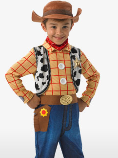 Deluxe Woody - Child Costume Fancy Dress