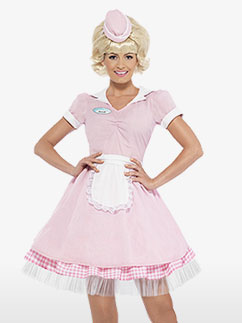 50's Diner Girl - Adult Costume
