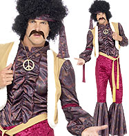 70's Psychedelic Rocker - Adult Costume Fancy Dress