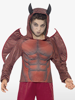 Deluxe Devil - Child Costume Fancy Dress