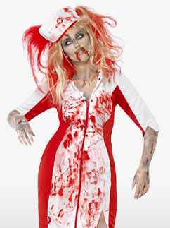 Curves Zombie Nurse - Adult Costume Fancy Dress