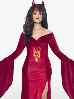 Curves Devil - Adult Costume Fancy Dress