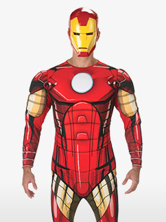 Iron Man Deluxe - Adult Costume Fancy Dress