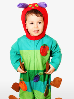 Hungry Caterpillar - Infant Costume Fancy Dress