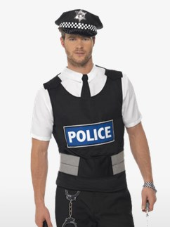 Policeman Kit - Adult Costume Fancy Dress