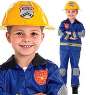 Fireman - Child Costume Fancy Dress