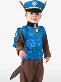 Paw Patrol Chase - Toddler Costume Fancy Dress