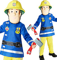 Fireman Sam - Child Costume