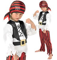 Raggy Pirate - Child Costume Fancy Dress
