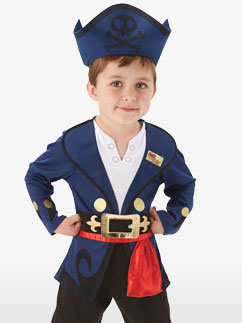 Jake the Neverland Pirate - Toddler Costume
